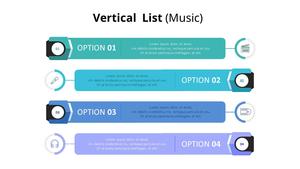 수직 목록형 Diagram (Music)