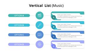 Vertical List 다이어그램 (Music)