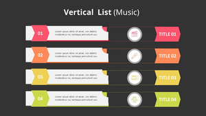 수직 리스트 Diagram (Music)