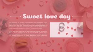 달콤한 발렌타인 PPT 배경 (Valentines Day)