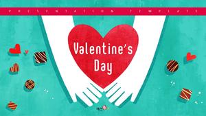 발렌타인데이 (Valentines Day) 일러스트 템플릿