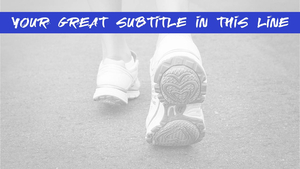 스포츠 운동화 (패션) - 파워포인트 배경화면