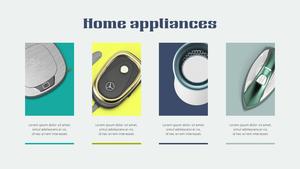 가전제품 (Home Appliances) 파워포인트 배경