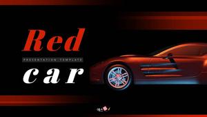 Red Car (자동차) PPT 표지