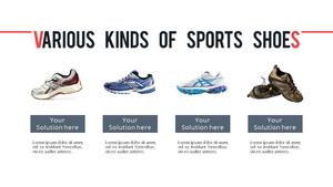 Sports Shoes (패션) PPT 템플릿