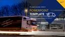 식자재 유통 대형트럭 (운송) 파워포인트 디자인
