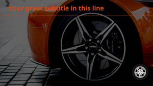 타이어  파워포인트 배경화면 (자동차)