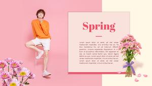 봄 세일 (Spring Sale) 피피티 템플릿