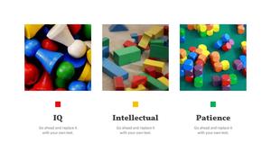 아이들의 장난감 PPT 표지 (아동,유아) - 와이드 #4