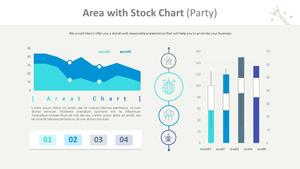 영역형 & 주식형 Mixed Chart (파티)