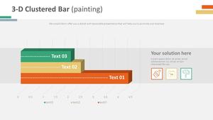 3D 가로 막대형 Chart (페인팅)
