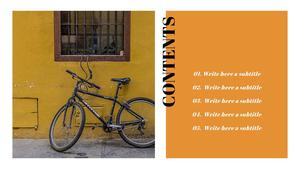 자전거 (생활) Powerpoint 배경
