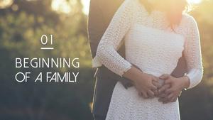 Dear Family (가족) PPT 배경템플릿