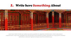 중국 (여행) 피피티 배경 - 와이드