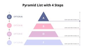 4 Step 피라미드 다이어그램