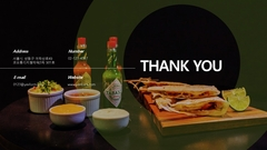 자금조달용 사업계획서  멕시칸음식 전문점(파워포인트>프리미엄 템플릿>음식/외식업) - 예스폼 쇼핑몰 #29