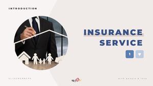 보험 서비스 (Insurance Service) 파워포인트