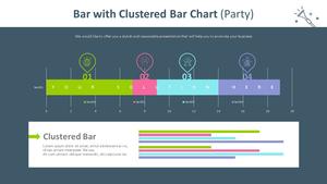 혼합 가로막대형 차트 (파티)