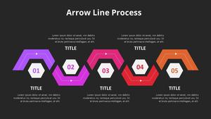 화살표 Line Process 다이어그램