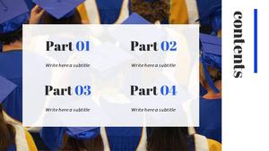 대학 졸업 (교육) 피피티 템플릿
