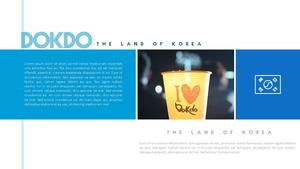독도 (Korea, 역사) 배경 템플릿