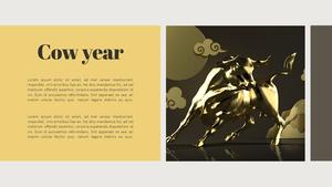 새해 PPT 배경 템플릿 (New Year)