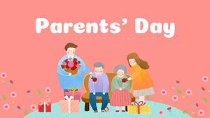 어버이날 (가족, 부모님) PPT 배경템플릿