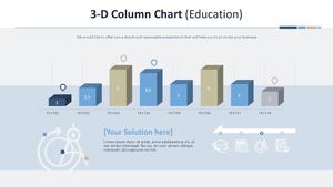 3D 세로 막대형 Chart (교육)