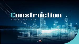 건설업 Presentation 템플릿 (건축)