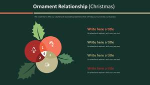 오너먼트 관계형 Diagram (크리스마스)