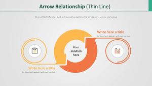Arrow 관계형 다이어그램 (얇은선)