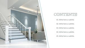 구조설계 (건축) PPT 표지 - 와이드