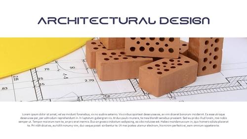 건설업 (건축) PPT 배경템플릿 - 와이드 - 섬네일 3page