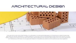 건설업 (건축) PPT 배경템플릿 - 와이드 #3