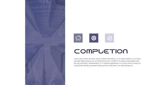 건설업 (건축) PPT 배경템플릿 - 와이드 - 섬네일 7page