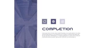 건설업 (건축) PPT 배경템플릿 - 와이드 #7