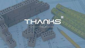 건설업 (건축) PPT 배경템플릿 - 와이드 #9