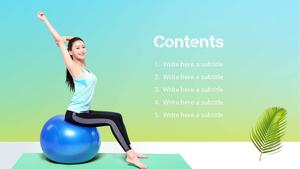 건강한 몸만들기 PPT 표지 (Build Your Body)