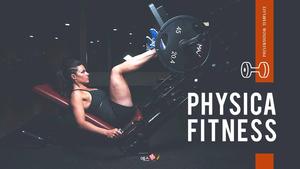 fitness(헬스 피트니스) presentation