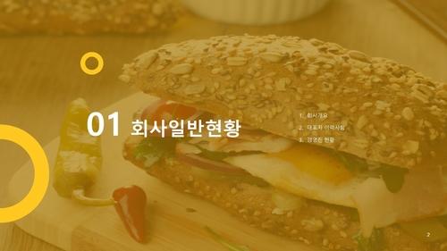 (샌드위치 전문점) 음식업점 창업 사업계획서 - 섬네일 3page