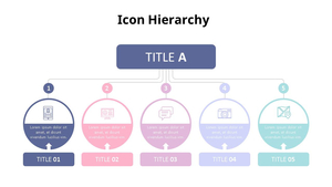 아이콘 계층구조 Diagram