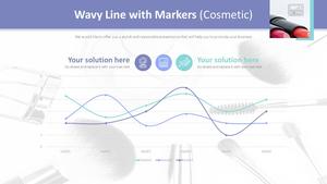 곡선 및 표식이 있는 분산형 차트 (립스틱)