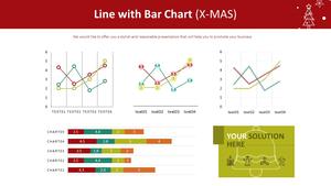 꺾은선형 & 가로막대형 Mixed Chart (X-MAS)