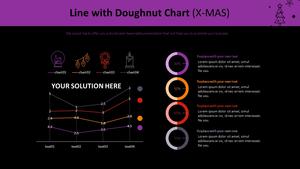 꺾은선형 & 도넛형 Mixed Chart (X-MAS)