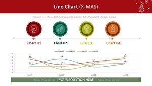 꺾은선형 Line Chart (X-MAS)
