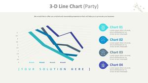 3D 꺾은선형 Chart (파티)