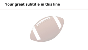 미식축구 (스포츠) 파워포인트 배경화면