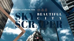 아름다운 도시와 빌딩 (City Skyscraper) 16:9