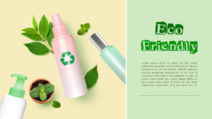 에코 캠페인 (환경보호) PPT 배경 템플릿