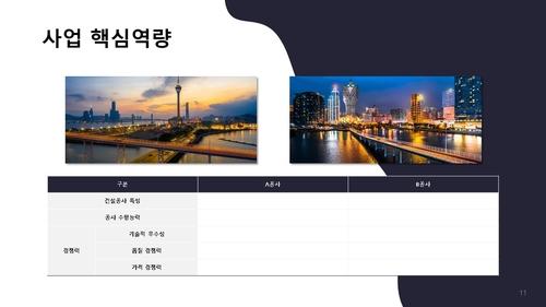 자금조달용 건설업 사업계획서_강구조물공사업 - 섬네일 12page